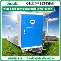 Controlador do gerador hidrelétrico 20KW para sistema de poder da turbina de água Hydro -