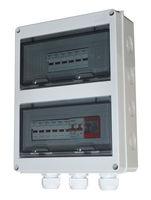 Caixas de caixa de combinador de matriz DC PV Solar sequência 2, 4, 5, 6 cordas -