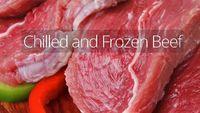 Carne congelada -