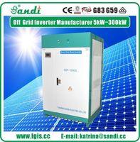 Alta qualidade 100KW trifásica solar da fora-grade inversor -