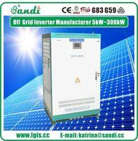 3KW ~ 500kw fotovoltaicos fora Inversor Solar de 500-850VDC de entrada para sistemas de armazenamento de energia não -