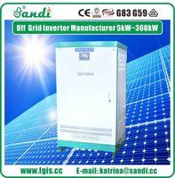 Alta potência 50KW trifásico 380V vento solar da fora-grade inversor -