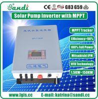 CE aprovado inversor de bomba de água solar 11KW MTTP para bomba submersível de água de agricultura -