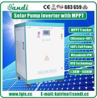 45KW bomba Inversor Solar para irrigação agrícola com MPPT CE aprovado -