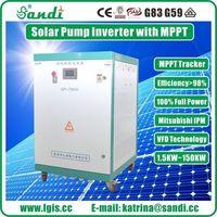 Trifásica solar dc para ac inversor de bomba solar para agricultura -