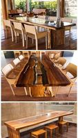 Furniture in luxury woods from Amazon -