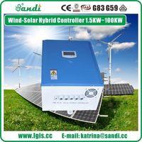 PWM vento solar híbrido controlador 5KW -