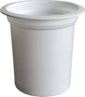 PP copo de iogurte, café de papel copo, copo de geléia PS / PET -