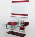 Bacia de lavagem de vidro / Gabinetes / Vidro pias / navio de Tonghe Coleção Tonghe Sanitário - Produtos para Casa