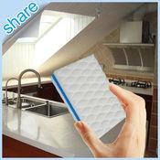 Alta demanda esponja produtos de cozinha Appliace Limpeza