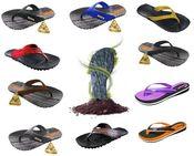 Sandálias de Pneus Reciclados