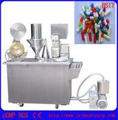 Máquina de enchimento da cápsula semiautomático