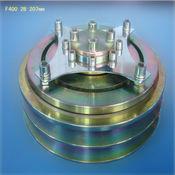 Embreagem eletromagnética ar condicionado de série F400