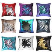 Almofadas decorativas de lantejoulas