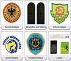Emblemas Tecidos - Badges