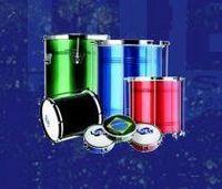 Tambores, instrumentos de percussão e peles -