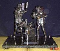 Esculturas de metal -