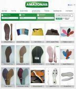 Materiais de calçados -