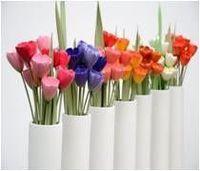 Flores de Ceramica Tulipas -