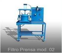 Filtro Prensa Automático e Semi Automatico -