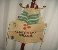 aventais de sacas de café -
