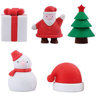 Forma de Natal Office & School Supplies Eraser Set (EA-086) -