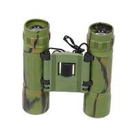 10 X 25 mm dobrável compacto Mini binóculos telescópio presente relativo à promoção -