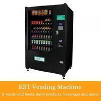 Frio, Comida e bebidas refrigerantes e doces Máquina de Venda Directa -