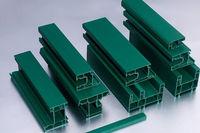Perfil de alumínio de pulverizador de pó -