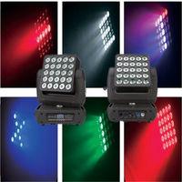 25X10W RGBW controle de pixel in1 LED feixe de luz em movimento da cabeça matriz VS2510 -