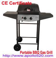 2 Burner Gas Grill Portátil BBQ -