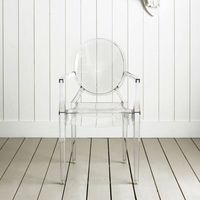Fantasma transparente cadeira de jantar /Ghost Transparent  Dining chair  -