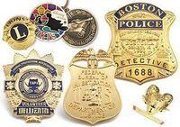 personalizado feito emblemas / A polícia badge / emblema militar crachá / Nome -