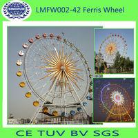 roda gigante 42m do parque de diversões -