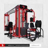 Estação de Musculação -