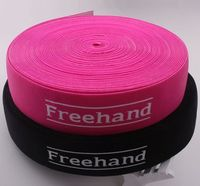Venda quente design de logotipo colorido poliéster tecido personalizado correias livre -