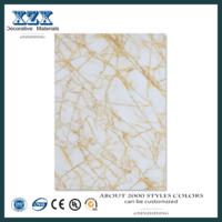 Painéis de parede resistente ao fogo alto brilho quarto painel UV -