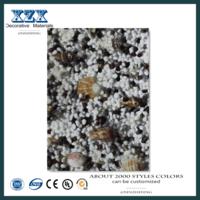 Ambiental UV revestido em mármore parede 3D de alto brilho -