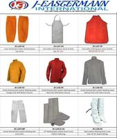 Segurança Wears, Feita de couro Split, aventais, Soldagem Casacos, sapatos Covers, Braço mangas -
