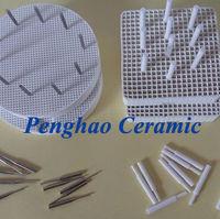PH Dental Honeycomb Firing Tray (pinos de metal e pinos de cerâmica) (redondo, quadrado) -