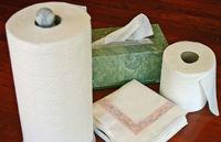 Cozinha papel toalha descartável, toalha rolo de cozinha -