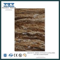 Painel de parede decorativo em pvc decorativo ecológico em texturas de madeira -
